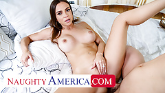 Naughty America - Havana Bleu gets fucked by a big cock