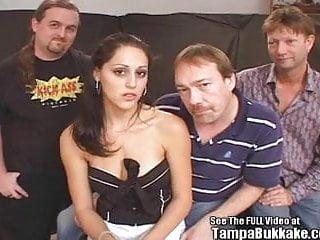 Stripper slut - Sexy stripper slut fucked by 3 cocks