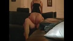 Cuck wife drains cock riding