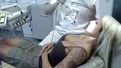 Doctor with hot patient for hot shot