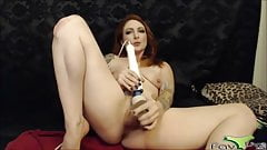 XXX ginger gets pounded a bald twat