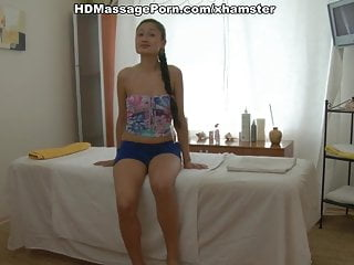 Local oriental teen girls sex - Oriental beauty fucked during massage