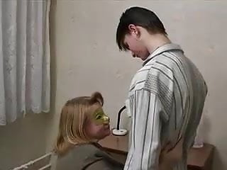Young male teen lovers Shy busty granny with young male by snahbrandy