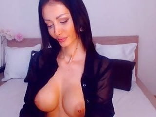 Aishwarya rai showing breasts Sexy brunette showing breasts off while on cam