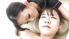 Hot Japanese Lesbian Massage 3