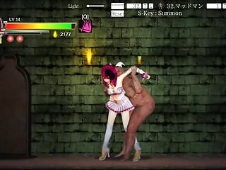 Fat female orgasm Hentai game guilty hell - fat female zombies