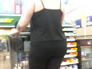 Adult electric scooter Scooter riding pawg ass in black spandex