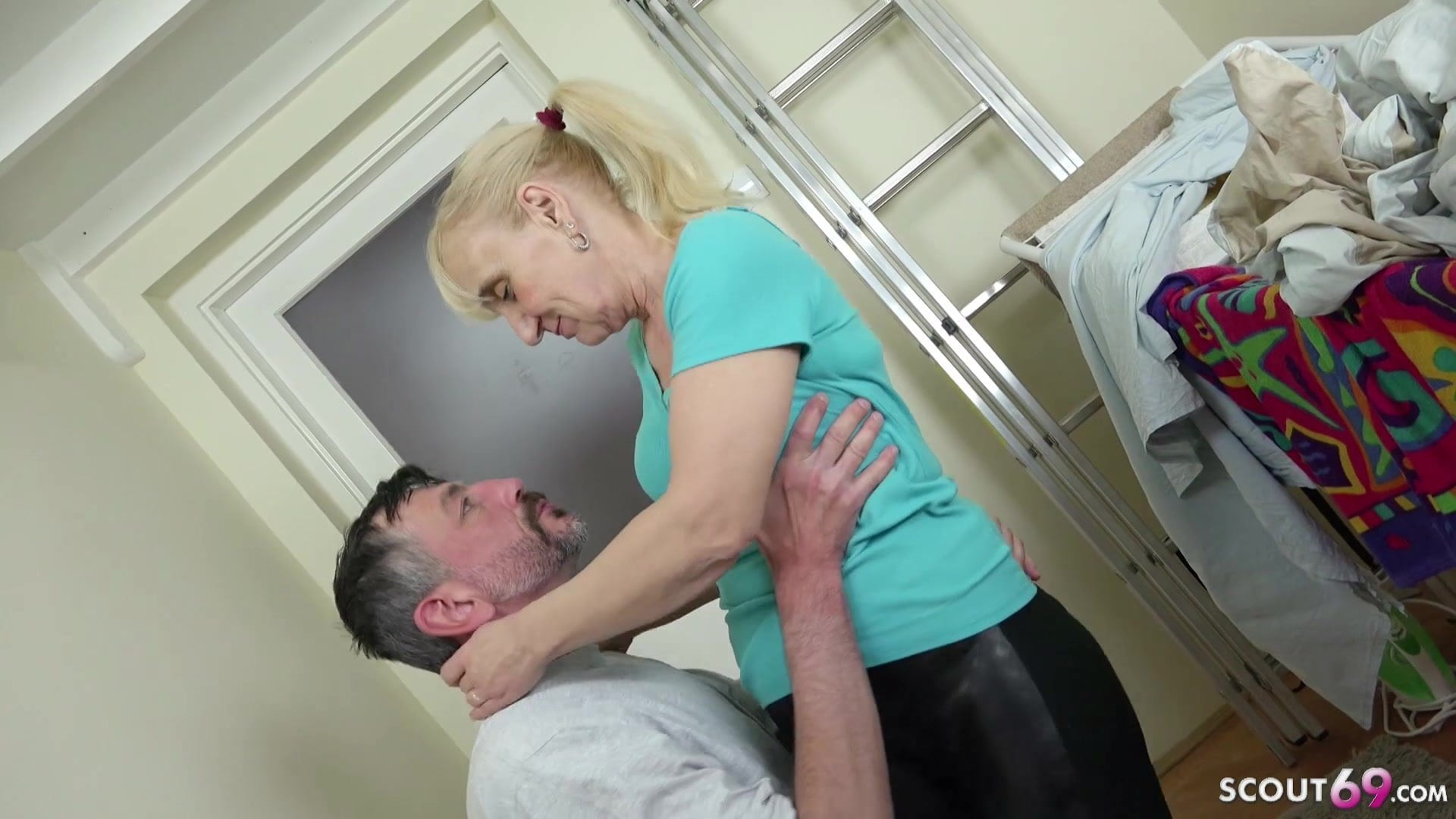 Younger Guy Seduce 72yr Old German Granny Lisa To Fuck Fr