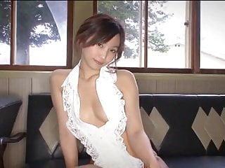 Non nude tease videos - Risa bumbo - teasing on leather sofa non-nude