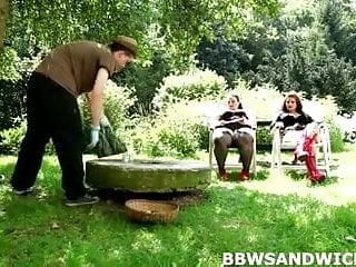 Mature crossdress fags personals - Marta and jitka fuck their personal slave gardener