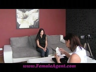 Breasts at the office - Femaleagent perfect breasts at 19