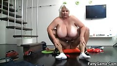 Horny photographer loves her fat cunt