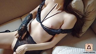 WATCH ME COME IN SEXY LINGERIE - CANDICE DELAWARE