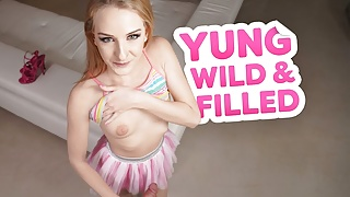 Petite Blonde Babe Lylyta Yung Is Your Slutty Princess – VR Porn
