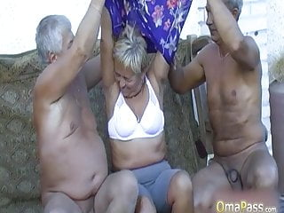 Mature content for palm Omapass compilation of nasty granny content