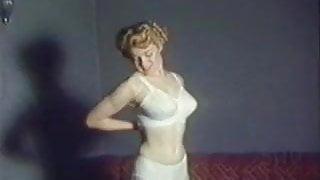 WOMAN - vintage stockings striptease music video