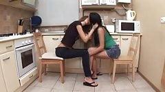 Girls in Love - Lesbian Girlfriends Love Anal 5