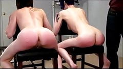 lila and veronica exposed for an imbarassing hard strapping