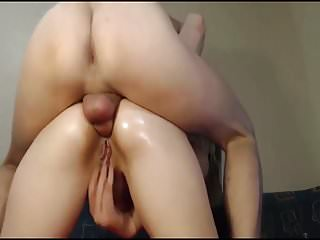 First time fuck with sister Russian girl first time fuck in the ass.part2.