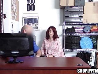 Secure amateur videos Big tit mature milf caught shoplifting fucks security guard