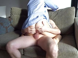 Vintage blue shirt - Wife blue shirt amazing ass3