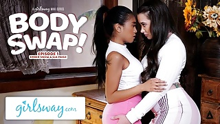 Making Out With My Sister's Hot Girlfriend Gia Paige