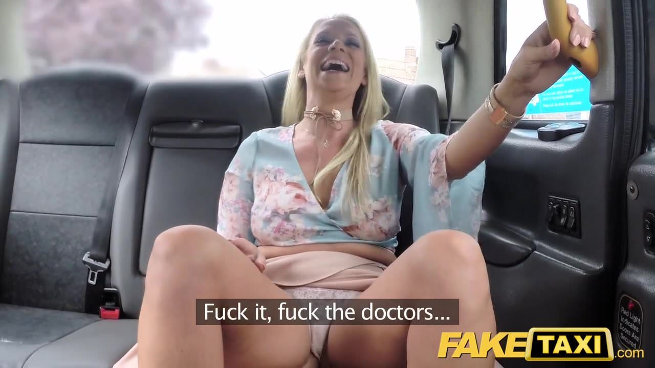 Fake porno taxi