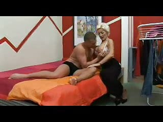 Young busty blonds - Blond busty mother loves to fuck with her young lover