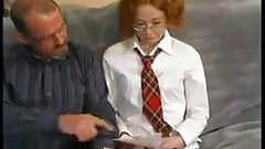 FA Pervy Tutor Persuades Nervous Teen To Fuck !
