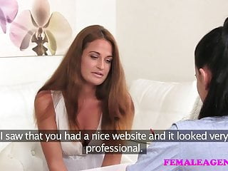 Free pic galleries busty sexy lesbian - Femaleagent new sexy busty agent loves the taste of pussy