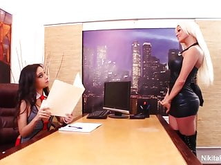 Lesbian office stories Nikitas lesbian office fuck