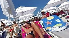 Spy beach tow girls boobs romanian