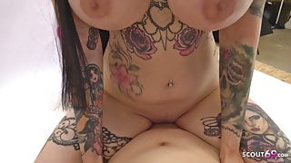 PAY FOR IT WITH SEX - German Teen Xania Fuck the Fotographer