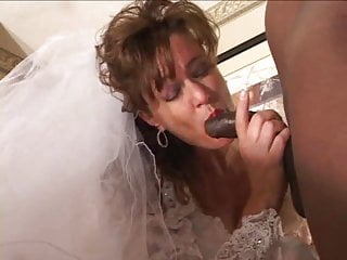 Transvestite in brides gown - Rubys wedding gown - preview