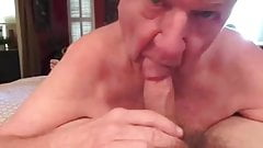 Grandpa blowjob series - 6