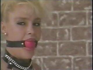 Patent leather bdsm cuffs - Lesbian cuffs, belts, and teasing