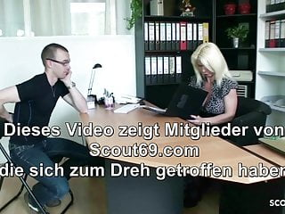 Fearn mature seduce - German mature seduce young boy to fuck at job interview