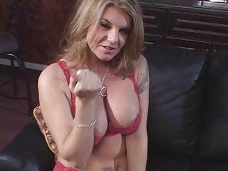 Hot slut with big - Sexy slut with big tits gives guy a hot handjob