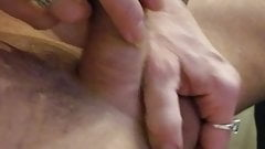 Dick slapping and jerking cumshot