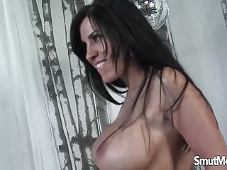 Veronica rayne boobs Brunette milf fucked and facial