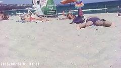 Amateur Voyeur Beach 5