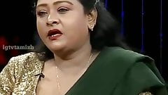 Тетушка Shakeela Mallu, мокрая сцена