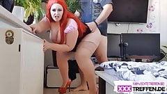 curvy redhead pawg fucking