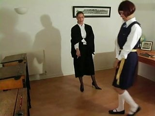 Girl cane knickers bottom video Caned bottoms