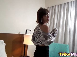 Big tit asian whore Trikepatrol abs of steel asian whore fucked silly