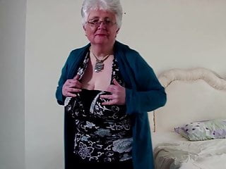 Insertion vagina Old granny with big tits and thirsty vagina