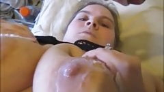 Hot Wax Torture On My Nipples & Pussy With Wax Sex Creampie