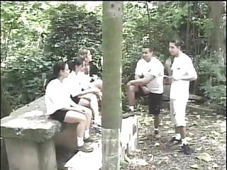 Adult summer camp rowing Teen tries anal at summer camp