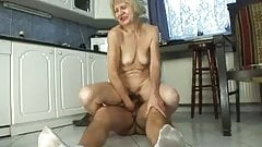 Old Lady gets fucked by young Cock