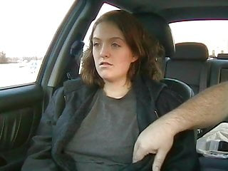 Naked wives in cars Girl orgasms while made to get naked in car in public